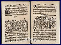 1497 Milano Toulouse Italia Italy France Schedel Inkunabel Incunable woodcut