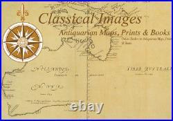 1545 Sebastian Munster Antique Map of France