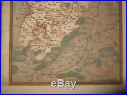 1580s/1608, XL-ORTELIUS FRANCE, CALAIS, BOULOGNE ARDRES, CAMBRAI ST. QUENTIN NOYON