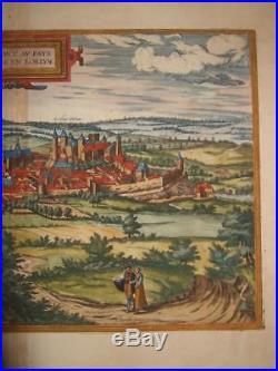 1581, Xl-b+hogenberg, View, Blanmont/blamont, Lorraine, France, Frankreich, Lothringen