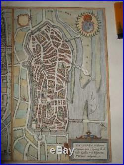 1581, Xl-plans/map, Autun+nevers, Franceburgundy/bourgogne, Loirebraun+hogenberg