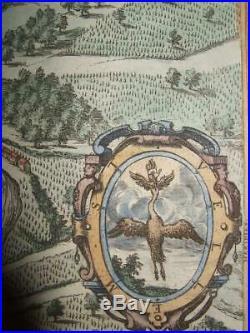 1581, Xl-view, Besanconvesontiofrancedoubs, Burgundy, F. Comtebraun+hogenberg