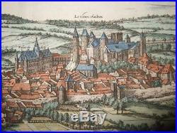 1581, Xl-view, Blamontblanmontfrancelorraine/lothringen, Metzbraun+hogenberg
