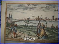 1581, Xl-views, Orleans+bourges, Franceparis, Cher, Berry, Loirebraun+hogenberg