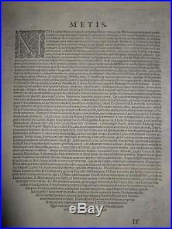 1581rare Xl-braun/hogenberg, Metz, Plan/view, France, Lorraine, Lothringen, Frankreich