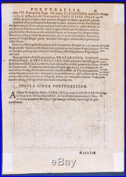 1597 map FRANCE MAGINI Galliae regnum antique map antique engraving