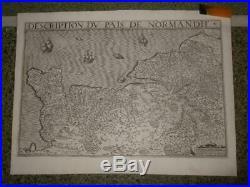 1620, Leclerc Xl-pais De Normandie, France, Caen, Rouen, St. Lo, Lisieux Dieppe Havre