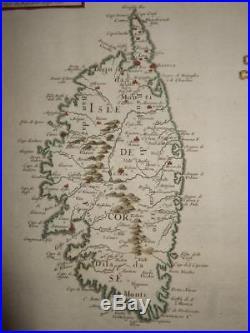 1647, Xl-corsica+sardinia, Corse/sardegna, France, Italy, Ajaccio, Bastia, Cagliari