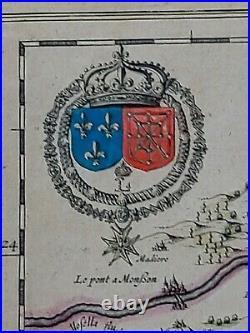 1656 Jansson map Metz Region of France entitled Territorium Metense. #0014