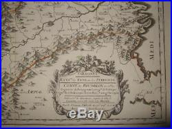 1660, Rare Sanson Xl-roussillon, France, Perpignan, Ceret, Prades, Millascatalonia