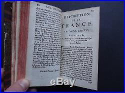 1685 Alquie Atlas Delices de la France with maps & views