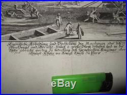 1700s, U. KRAUSEN, XL-VIEW CONSTRUCTION LOUVRE, PARIS FRANCE, FRANKREICH, ARCHITECTURE