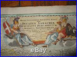 1710xl-savoy, Sabaudia, Piemont Torino Turin, Cuneo, Asti, Alba, Italy/italia, France