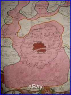 1720sXL-FRANKFURT WITH VIEW! HESSEN, HANAU, SACHSENHAUSEN, Höchst, OFFENBACH, GERMANY