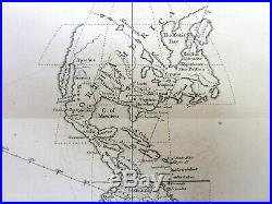 1758 FRENCH INDIAN WAR newspaper with FOUR FOLD OUT MAPS Africa AMERICA France