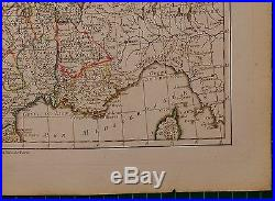 1779 Dated Rigobert Bonne Map France By Governments