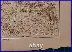 1790 Dated Rigobert Bonne Map France Flanders Boulnois