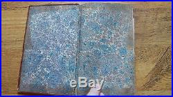 1809 COURS GASTRONOMIQUE 2nd Ed Fold Out Map ANTIQUE GOURMET FRENCH COOKBOOK