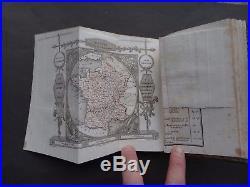1824 Depping Atlas Les Jeunes Voyageurs en France / 100 maps views