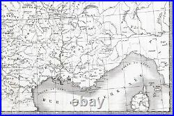 1826 Feudal France Map Paris Dukes Burgundy PIEERE TARDIEU BARON DE BARANTE