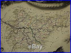 Antique Map France Blog Archive 1856 Map France Department De