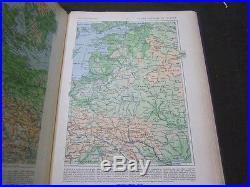 1933 Histoire Et Geographie Atlas General Vidal Lablache Paris France Kd 3027