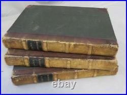 Antique 1835 PICTURESQUE FRANCE 3 volumes MAPS ILLUSTRATED by Hugo Pittoresque