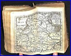 Antique Atlas 1689 Jacques Robbe Methode la Geographie Volume I Maps Europe