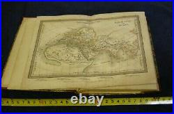 Antique Circa 1850, Atlas Of Maps, By Colonel Lapie & Ambroise Tardieu