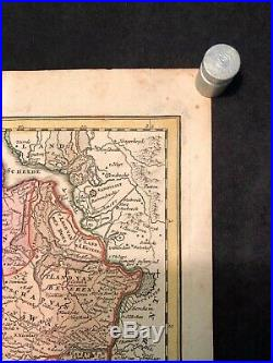 Antique Map Comitatus Flandria by Johann Baptist Homanni 1700s