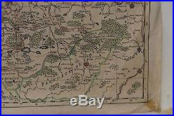 Antique Map Engraving of France, by H Jaillot Paris