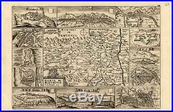 Antique Map-FRANCE-DAUPHINE-GRENOBLE-LYON-Weege-1753