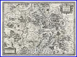 Antique Map-FRANCE-LORRAINE-Hondius-1636