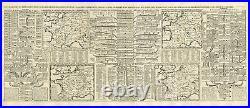 Antique Map-FRANCE-MONARCHY-ROMAN EMPIRE-GENEALOGY-Chatelain-1732