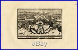 Antique Map-VERSAILLES-FRANCE-CASTLE-GARDENS-Weege-1753