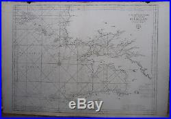 Antique Print-BRITTANY SEA CHART-BREST-FRANCE-Jaillot-Mortier-1693