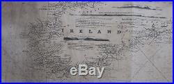 Antique Print-CHANNEL-LA MANCHE-ENGLAND-FRANCE-Norie-Stephenson-1833