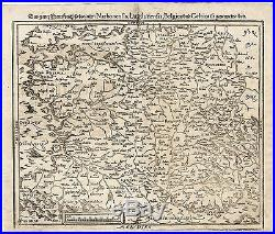 Antique Print-FRANCE-LUGDUNENSIS-NARBONENSIS-Munster-1598