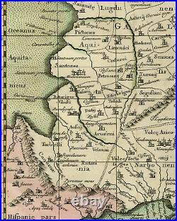 Antique Print-GALLIA-FRANCE-BELGIUM-GERMANY-PTOLEMY-Mercator-1730