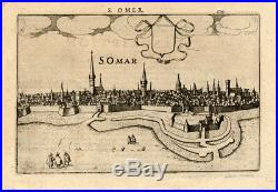 Antique Print-SAINT OMER-FRANCE-Guicciardini-1613