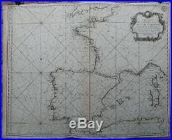 Antique Print-SEA-FRANCE-SPAIN-MEDITERRANEAN-Bellin-Depot de la Marine-1771