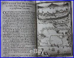 Antique atlas SIEGE WAR'LES TRAVAUX DE MARS', Mallet maps & plans, 1st ed 1671