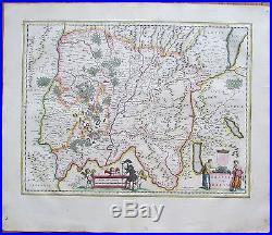 BLAEU France Bresse Geneve 1650