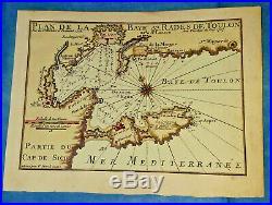 Bay of Toulon, FRANCE Michelot & Bremond, 1727