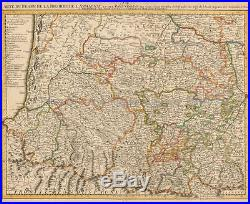 Antique Map France biarritz