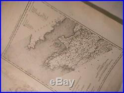 Brittany-normandy1761-9 Mapbrest-tobolskno. 1venus Transit Series-d'auteroche