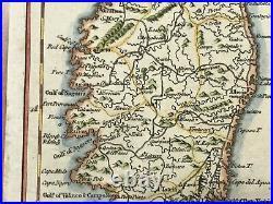 CORSICA FRANCE 1757 by THOMAS JEFFERYS UNUSUAL ANTIQUE MAP 18TH CENTURY
