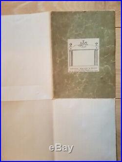 Carte Gastronomique De La France Par A Bourguignon Canvas Back Sifton, Praed & Co