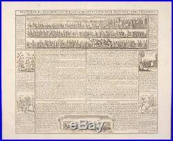 Chatelain Arabia Turks Pilgrimage Mecca. 46a -1718 Atlas Historique Engraving