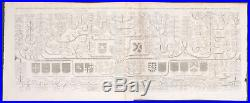 Chatelain Genealogy Families of Normandy. 1 -1718 Atlas Historique Engraving